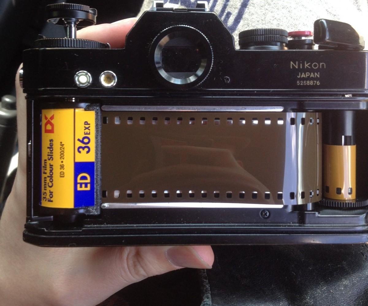 пленочный фотоаппарат использовать как реальном времени