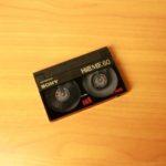 Оцифровка видеокассет 8mm